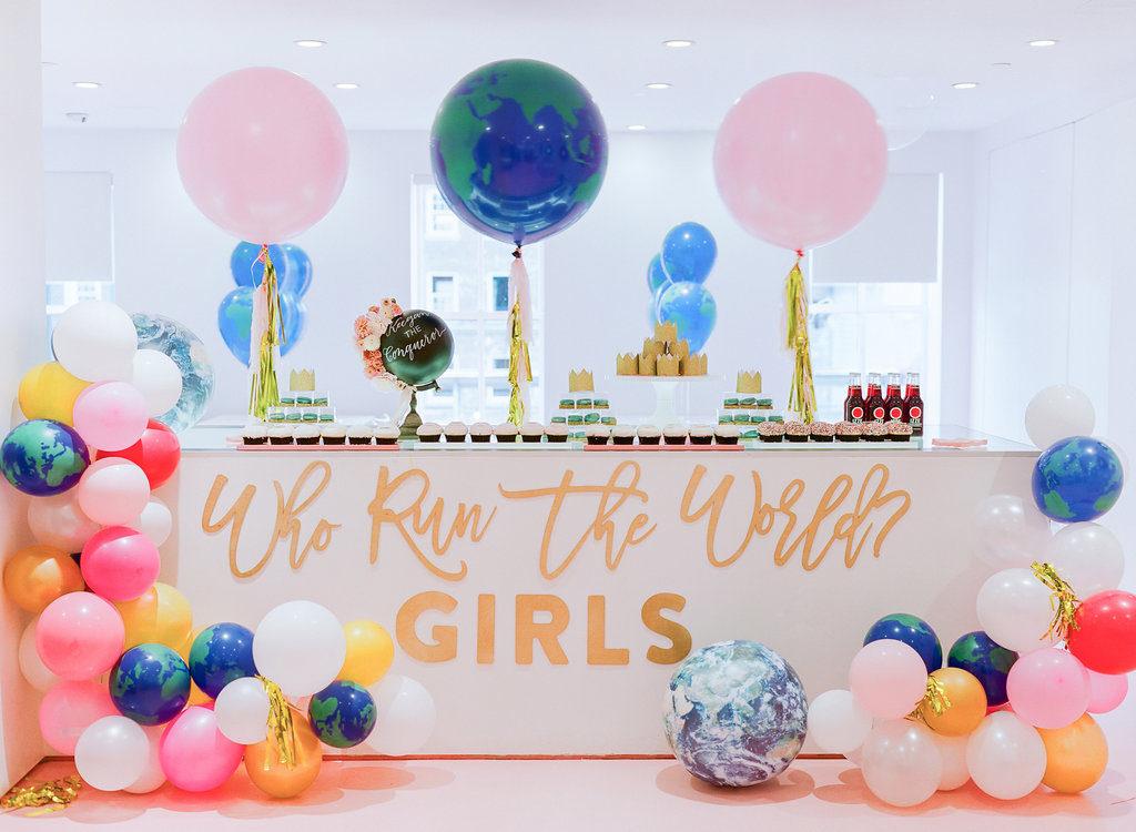 Who Run the World? Girls! Baby Shower